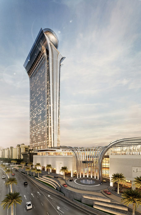 Nakheel Confirms Dh819 Million Contract For The Palm Tower