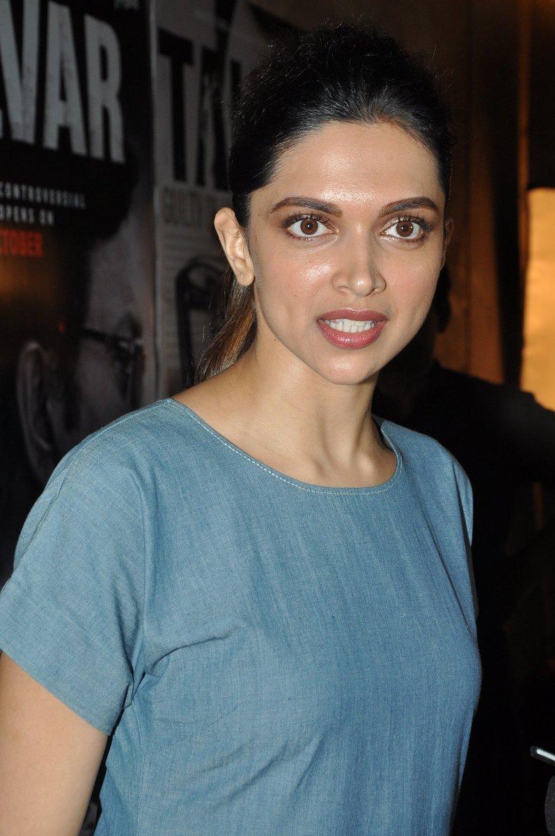 Deepika Padukone watches 'Talvar' - Emirates 24|7
