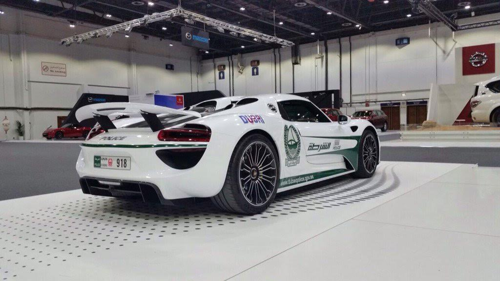 Dubai Police Adds New Car In Its Luxury Fleet Click To