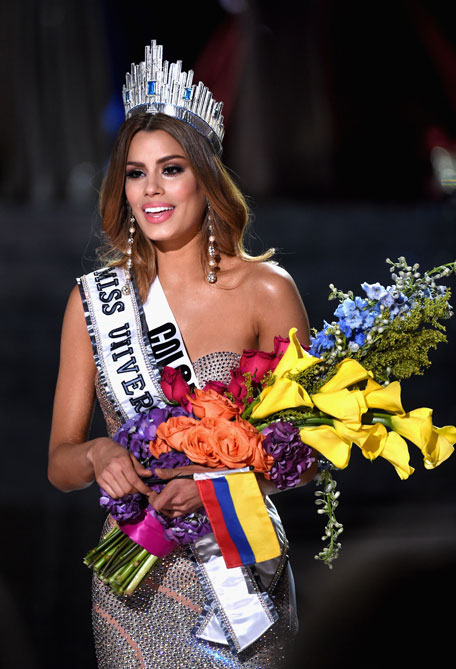 miss universe crown taken from miss colombia emirates 247