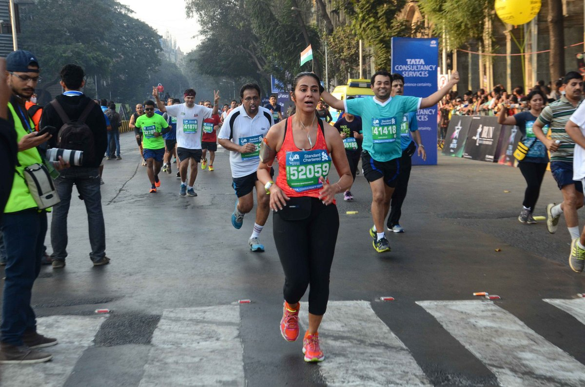 SCMM 2017- Last year participant finishing the race
