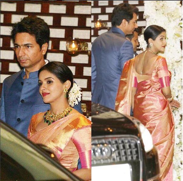Asins D Day Christian Wedding Followed By Hindu Ceremony