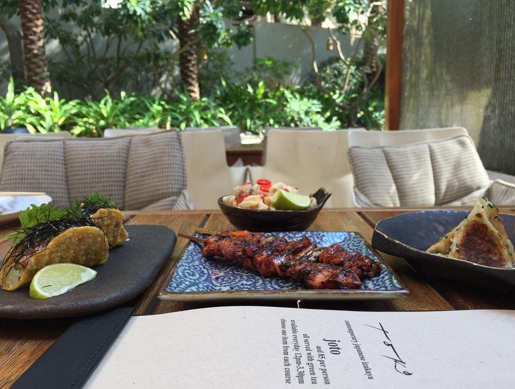 Dubai's menu: Beach canteen, restaurants, all night party