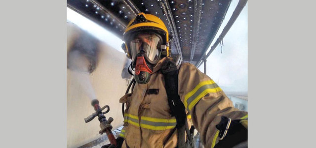 In Pics: How Dubai Civil Defence tackled Address fire