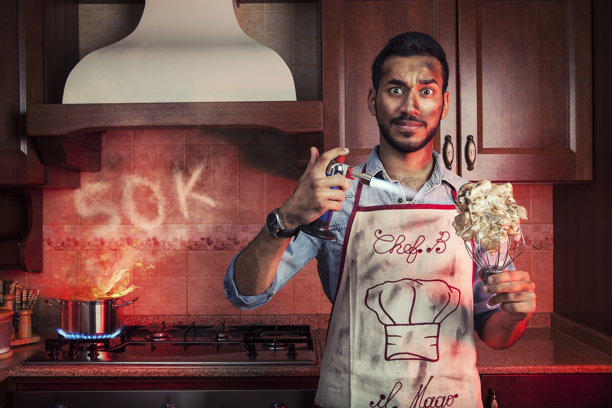 Watch these local young masterchefs cook off across dubai for An najeeb cuisine