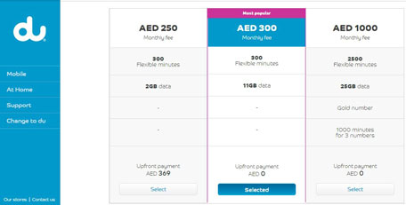How to find the best mobile phone plan in Dubai