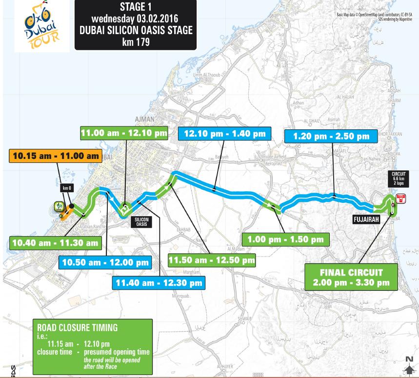 Dubai Tour  Road Closures