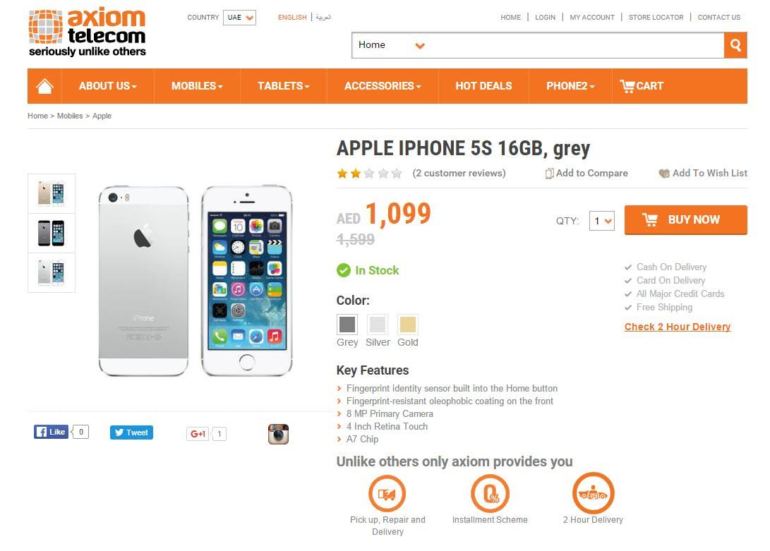 Where you can get iPhone 6s, 5s cheapest in UAE ...