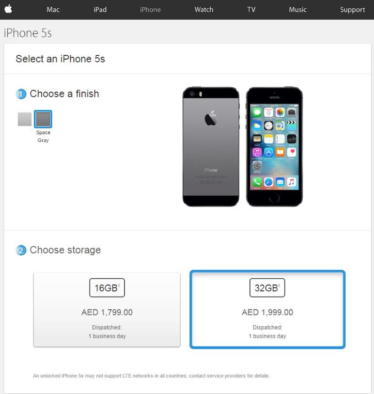Where you can get iPhone 6s, 5s cheapest in UAE… - Emirates24|7