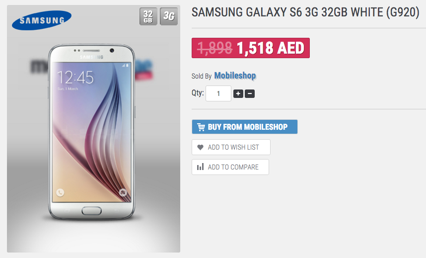 Samsung Mobile Price In Uae