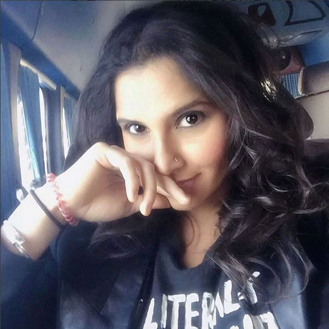my favourite sports star sania mirza Sania mirza is a self-confessed hindi movie buff filmfare listens in.