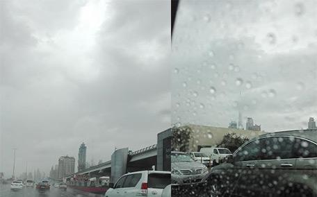 how to make it rain in dubai