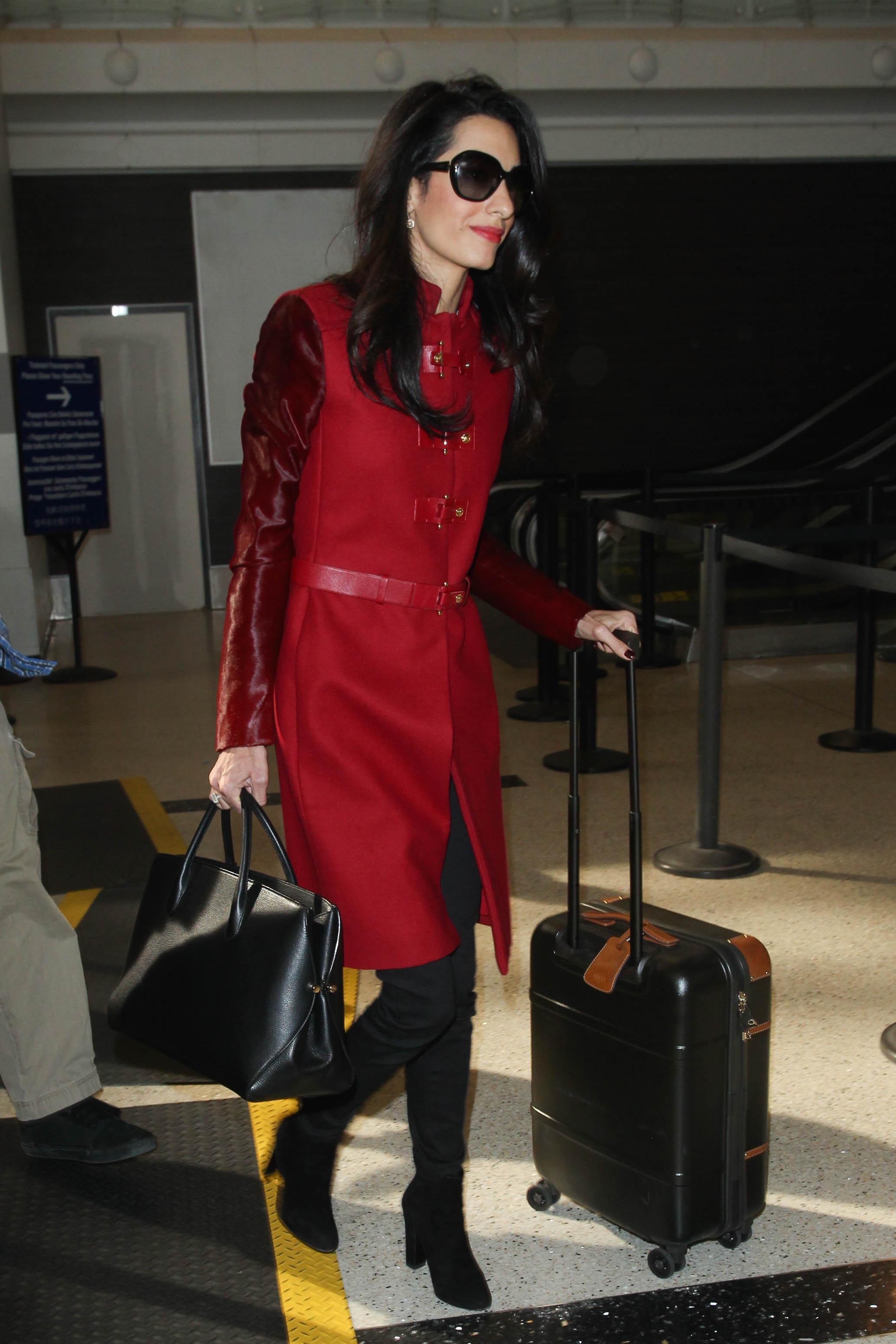 World's best dressed travellers: Victoria Beckham, Amal Clooney