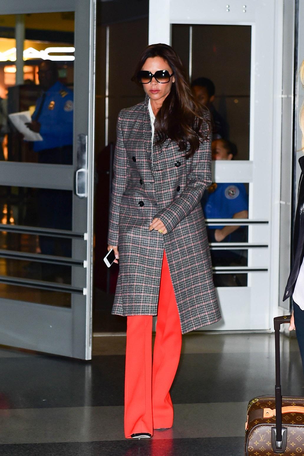 World's best dressed travellers: Victoria Beckham, Amal