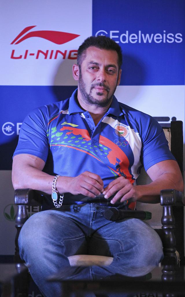 Salman Khan Indias Ambassador For Rio Olympics 2016 Emirates247
