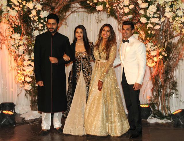 Iswarya Rai Wedding.Aishwarya Rai Dazzles At Bipasha Basu S Wedding Reception Emirates24 7