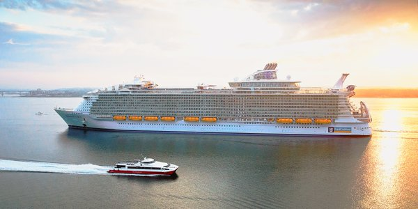 Worlds Largest Cruise Ship Harmony Of The Seas Sets Sail Video - How much do cruise ships cost to build