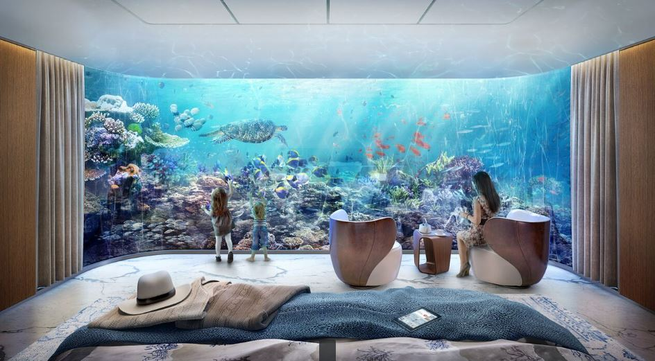 gets larger floating homes with 2 underwater bedrooms emirates 24 7