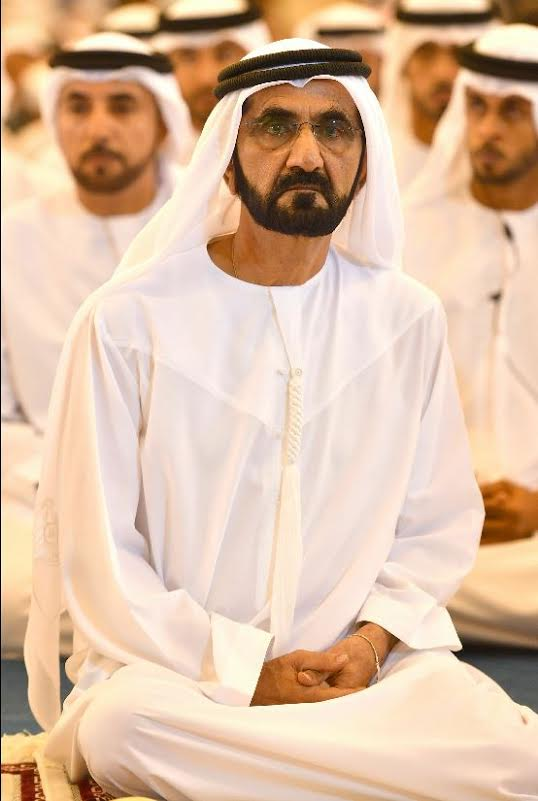 Mohammed offers Eid prayer at Zabeel Mosque - Emirates24|7