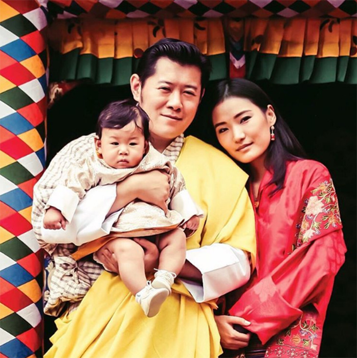Poster Perfect Bhutan Royalty S Baby Pride Emirates24 7