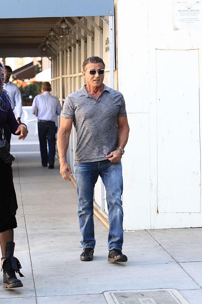 9d40b2a8 Celebrity Sightings: Sylvester Stallone, Jennifer Lopez, Harry Styles.