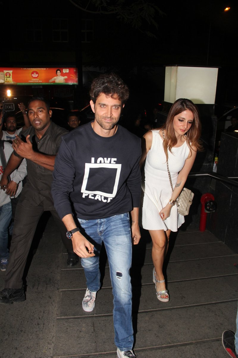 Hrithik Roshan celebrates his birthday with kids and ex-wife