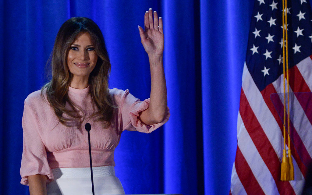 558d5e18b6 First lady Melania Trump and the political fashion police - Emirates24