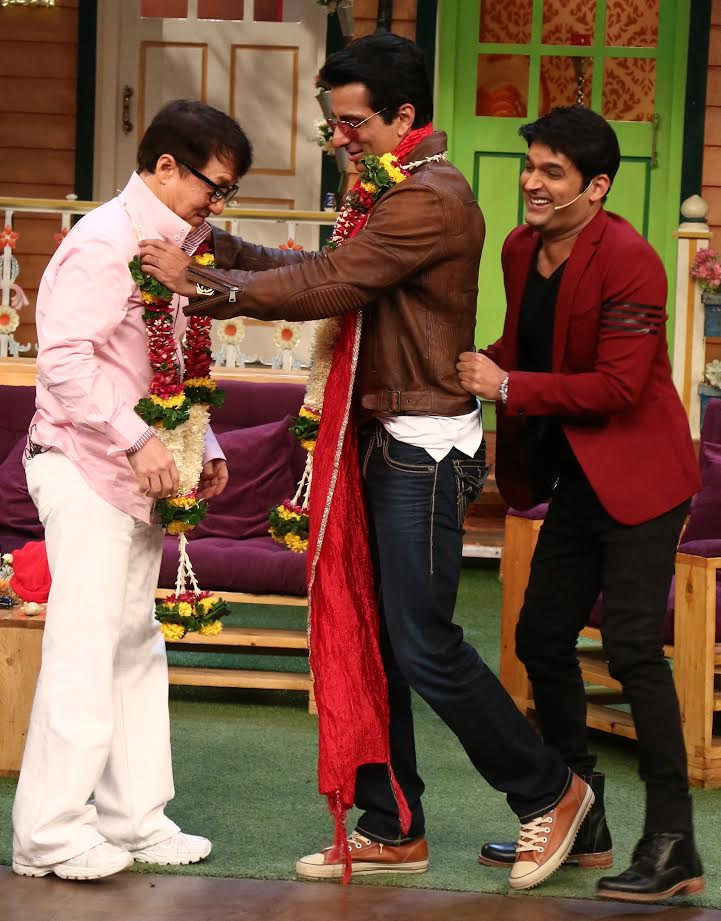 Jackie Chan and Sonu Sood on The Kapil Sharma Show - Emirates24|7