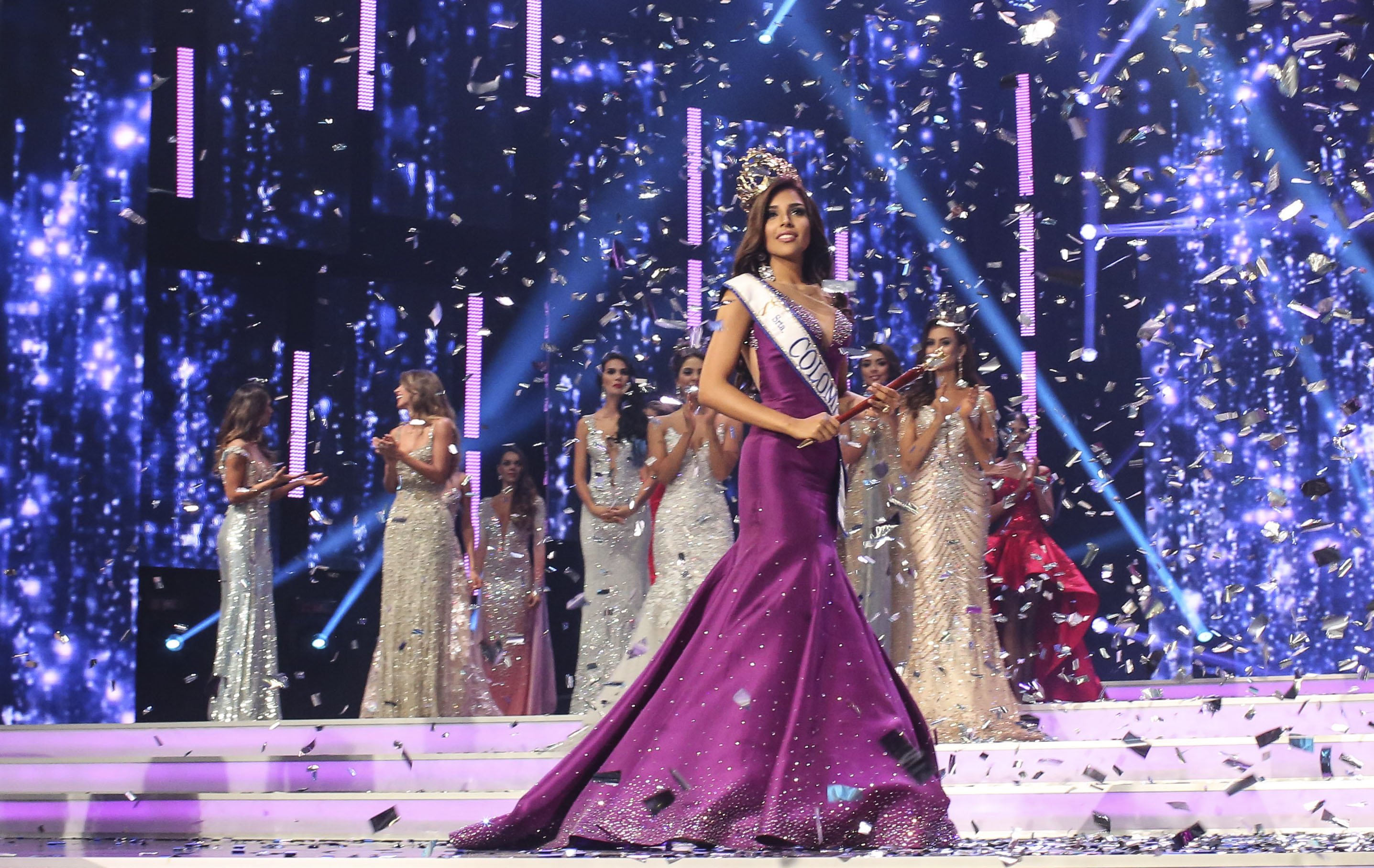 Laura Gonzales Ospina >> Laura Gonzalez Ospina crowned as Miss Colombia 2017 ...