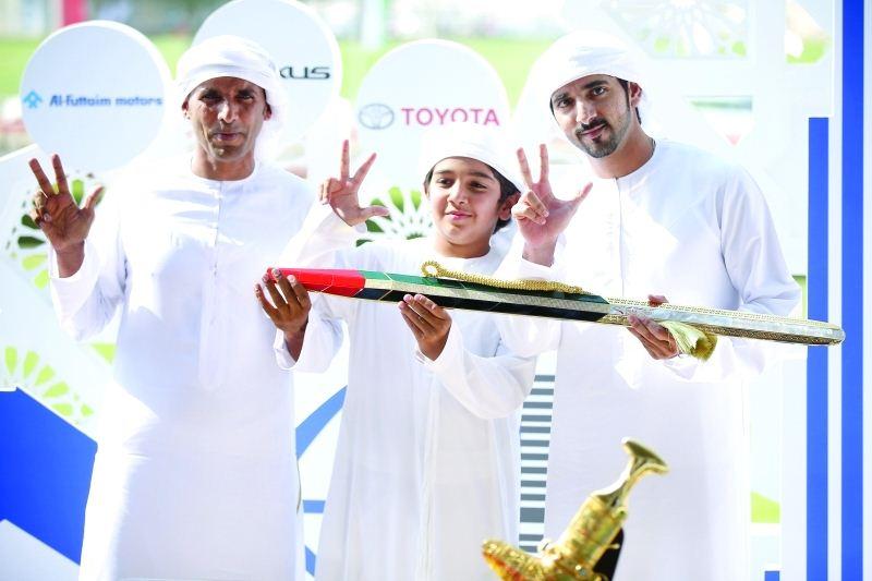 Sheikh Hamdan bin Mohammed wins the 'UAE Sword' at Heritage