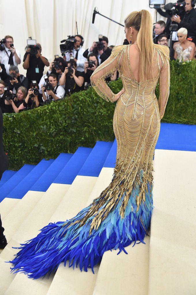 Blake Lively Wears 200 Carats Of Jewellery To The Met Gala