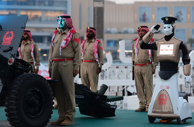 Image result for First Robotic Cop Joins Dubai Police