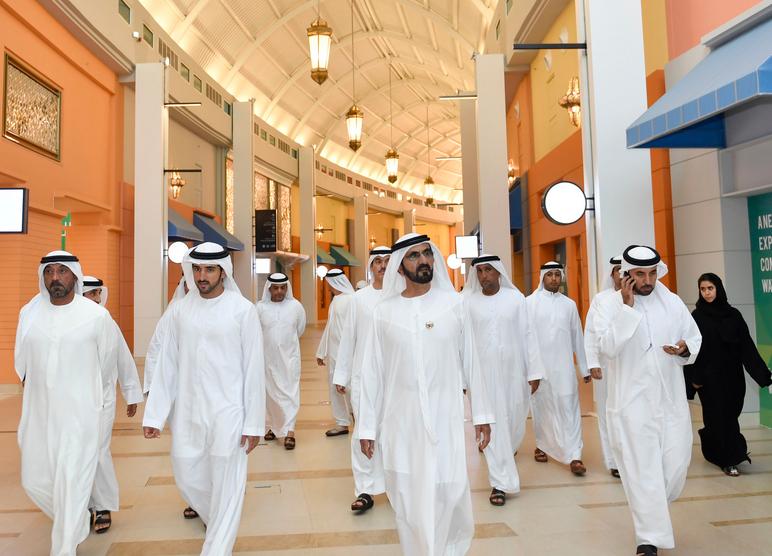 Mohammed bin Rashid tours Waterfront Market - Emirates24|7