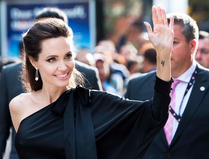 Angelina Jolie Brings Her Kids To Toronto Film Festival