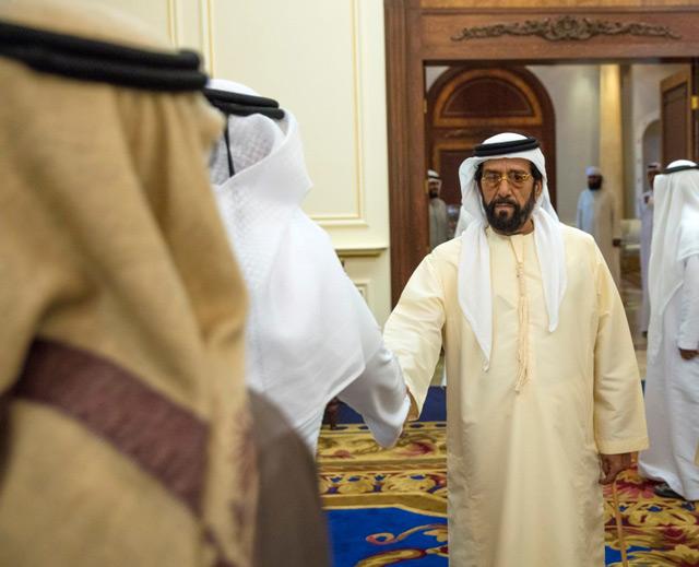 Tahnoun Bin Mohammed Accepts Condolences On Death Of Sheikha Hessa News Government Emirates24 7