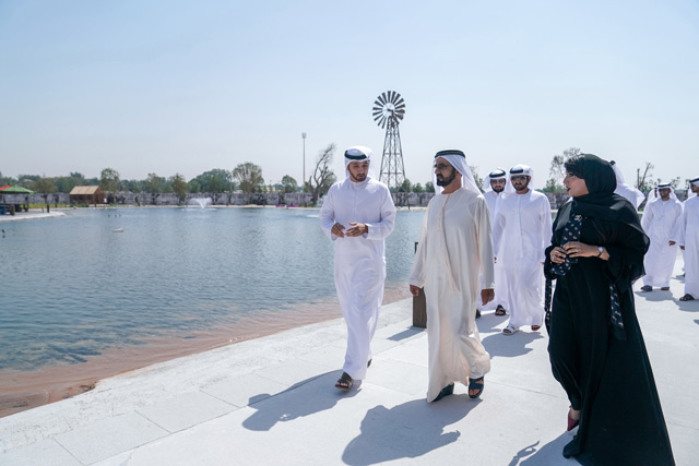Sheikh Mohammed visits Meraas' The Yard - Emirates24|7