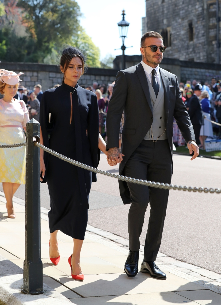 Priyanka Chopra, Serena Williams arrive for royal wedding ...