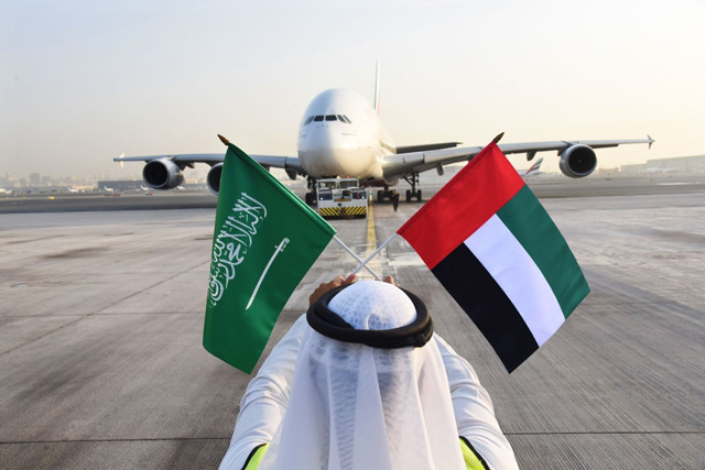 Emirates celebrates Saudi National Day with special one-off A380