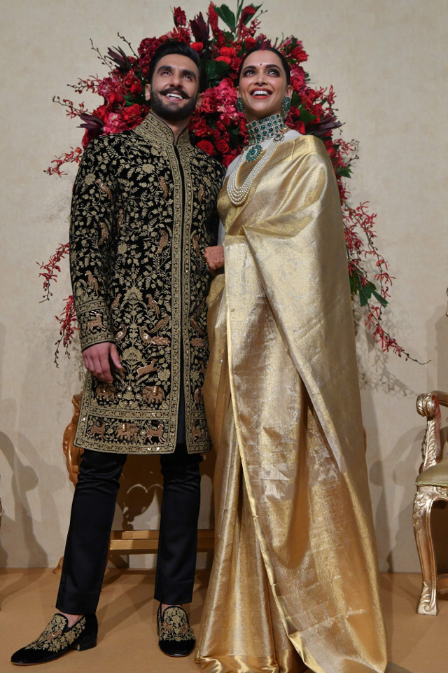 Deepika Padukone And Ranveer Singh Wedding Reception In Bangalore