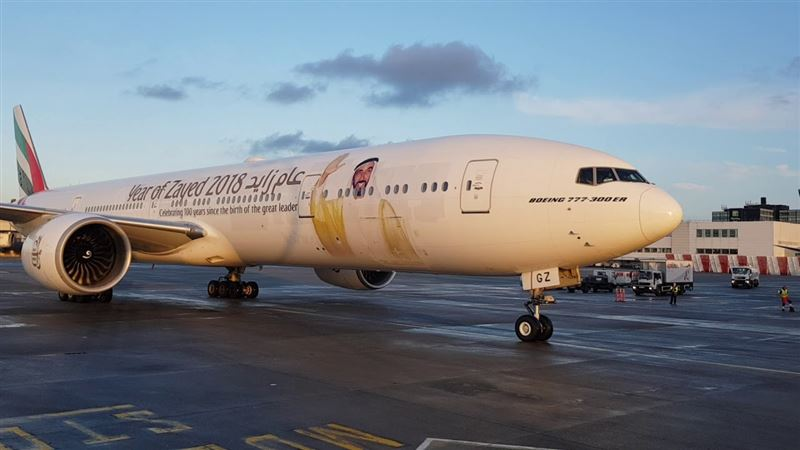 Emirates exclusively charters a flight for UAE government employees