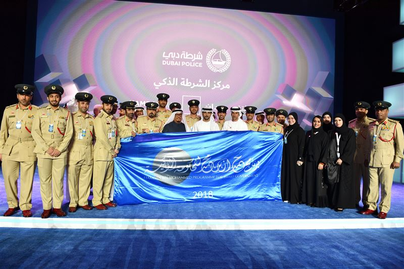 Sheikh Hamdan hands over Hamdan bin Mohammed Program for