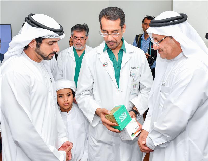 Sheikh Hamdan visits Dubai Hospital - Emirates24|7