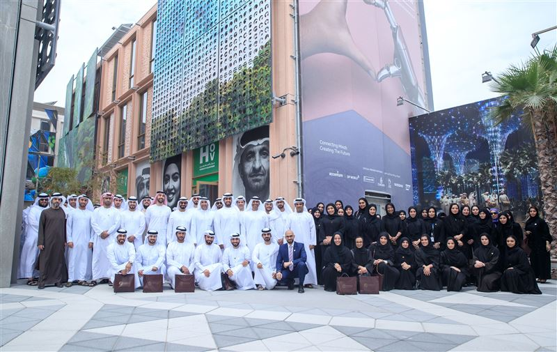 Representatives from Abu Dhabi government bodies visit Expo 2020