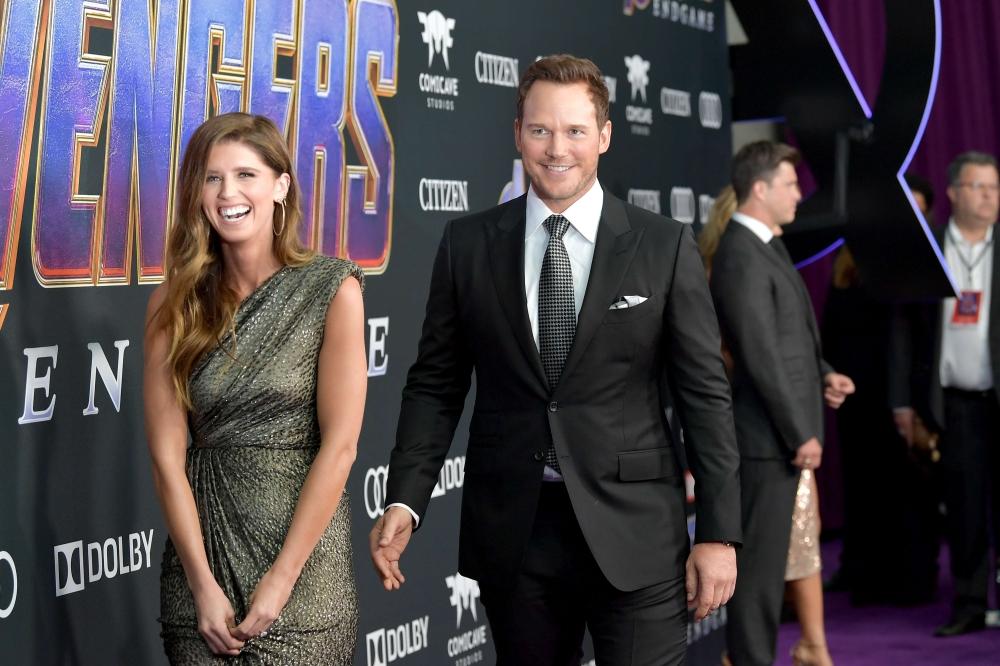 Chris Pratt & Katherine Schwarzenegger Make Red Carpet Debut at 'Avengers: Endgame' Premiere